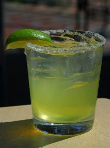 Ice in Margarita